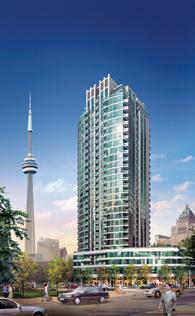 Tower B at Pinnacle Centre, Toronto