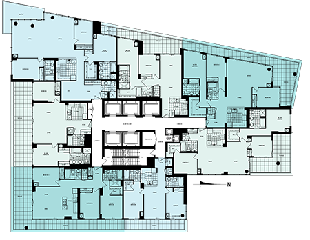 33 bay pinnacle international waterclub harbourfront waterclub phase 2 floorplans